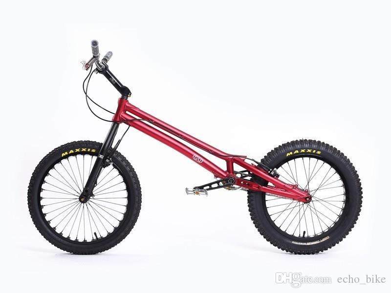 echobike gu pro 20 bike trial bike carbon fibre fork. Black Bedroom Furniture Sets. Home Design Ideas