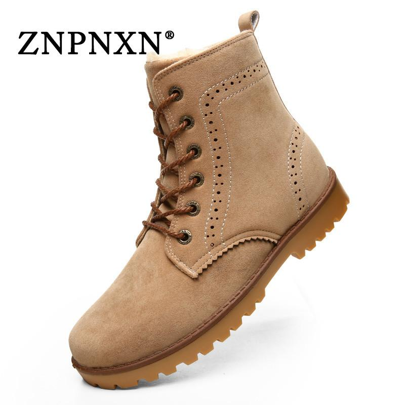 2016 Hot Sale Winter Boots Women And Men Winter Shoes Woman Fur ...