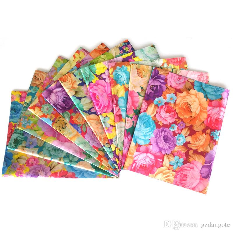 Hot Sale Floral African Sego Headtie pour mariage Print Polyester Fashion Multi