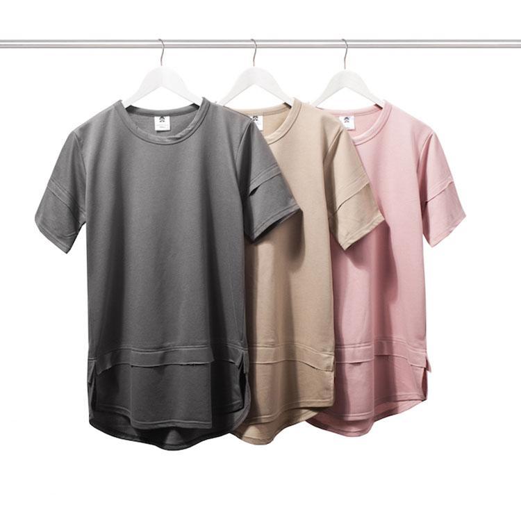 New s xxl streetwear hipster urban clothing kpop pink grey for Urban streetwear t shirts
