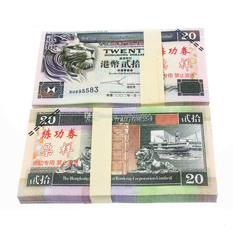 Hongkong chinese paper money hkd20 high quality bank for Money in design home game