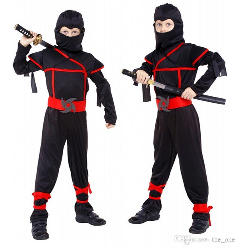 New Japanese Anime Halloween Baby Boys Ninja Warrior ...