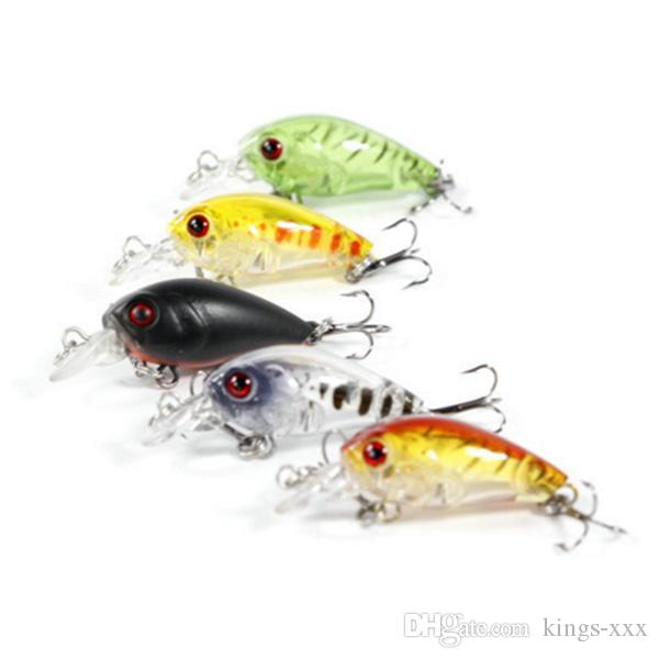 Fishing lures crankbaits hook bass crank baits 6g for Bass fishing lures for sale