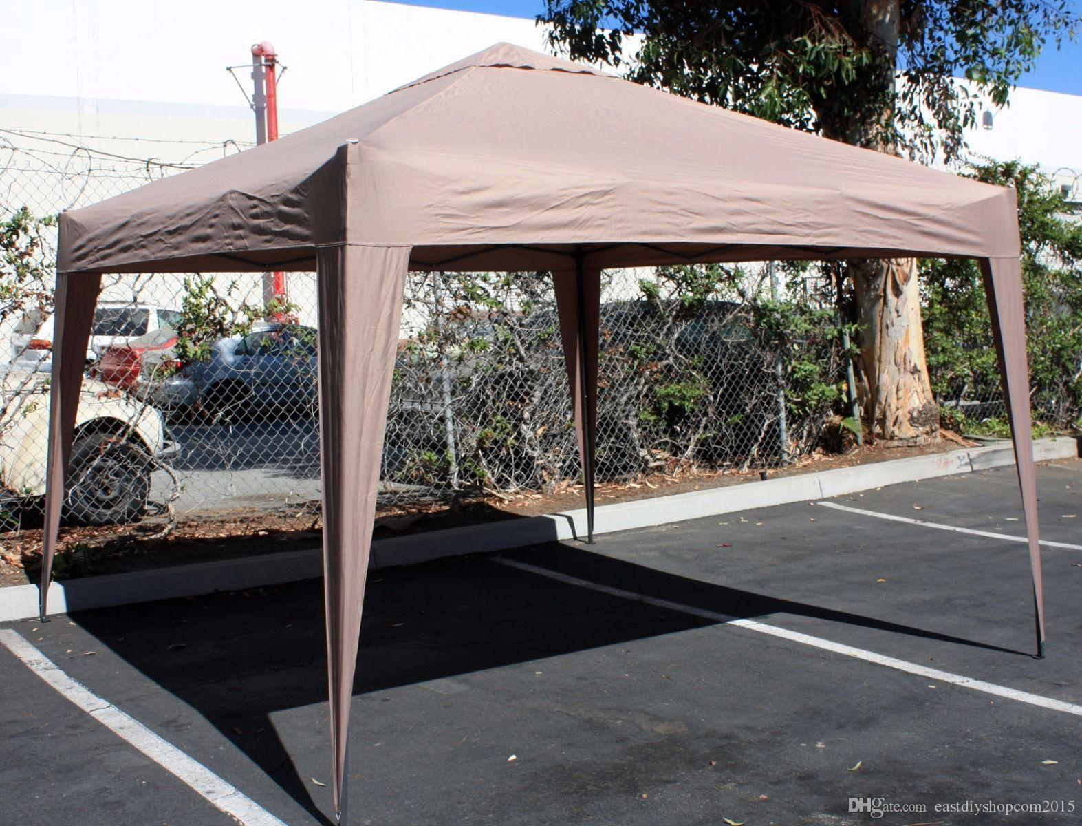 Portable Outdoor Canopy : Lightweight and portable outdoor shade shelter ez pop up