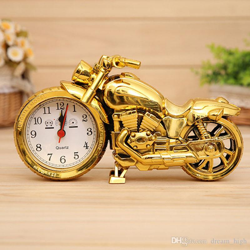 Cool Motorcycle Model Clock Alarm Clock Fashion