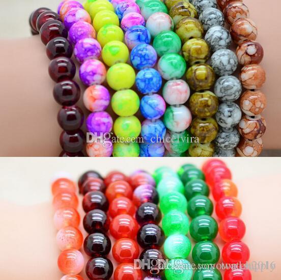 new beaded bracelets popular color bracelets
