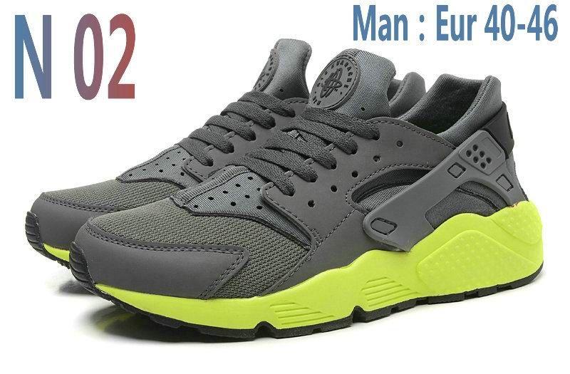 2016 Cheap Sale Men & Women black gray red white trainers huraches ...
