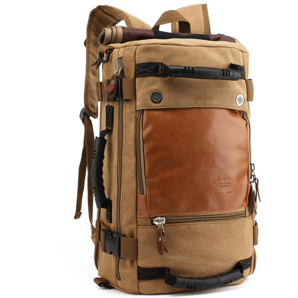 Fashion Men'S Canvas Army Style Shoulder Bag Travel Tactical ...