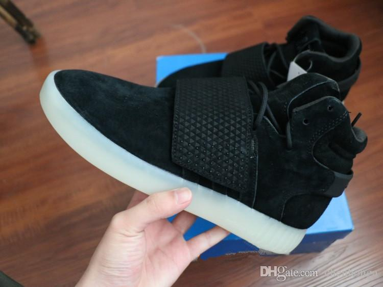 Adidas Women 's Tubular Invader Strap Mid Top Sneakers