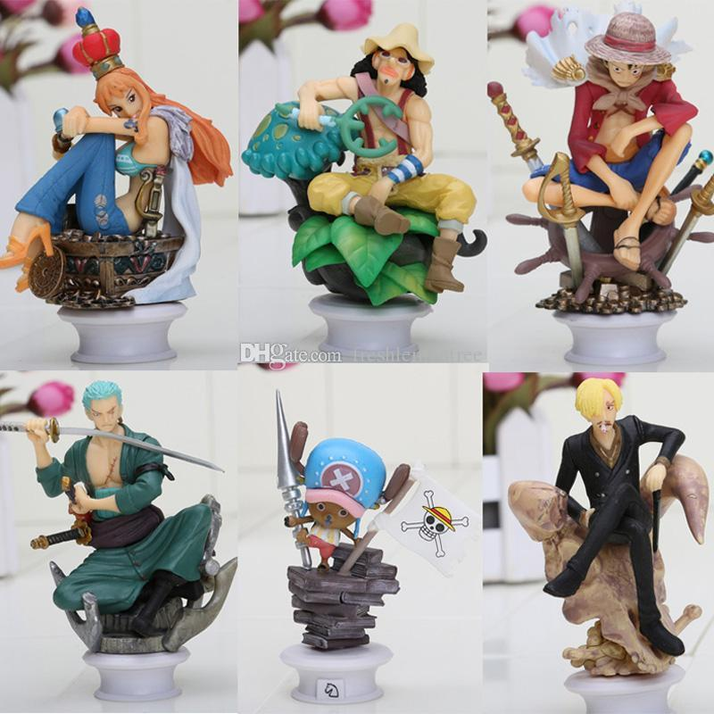 Japanese Anime CHESS PIECE COLLECTION Luffy Nami Usopp Chopper ...