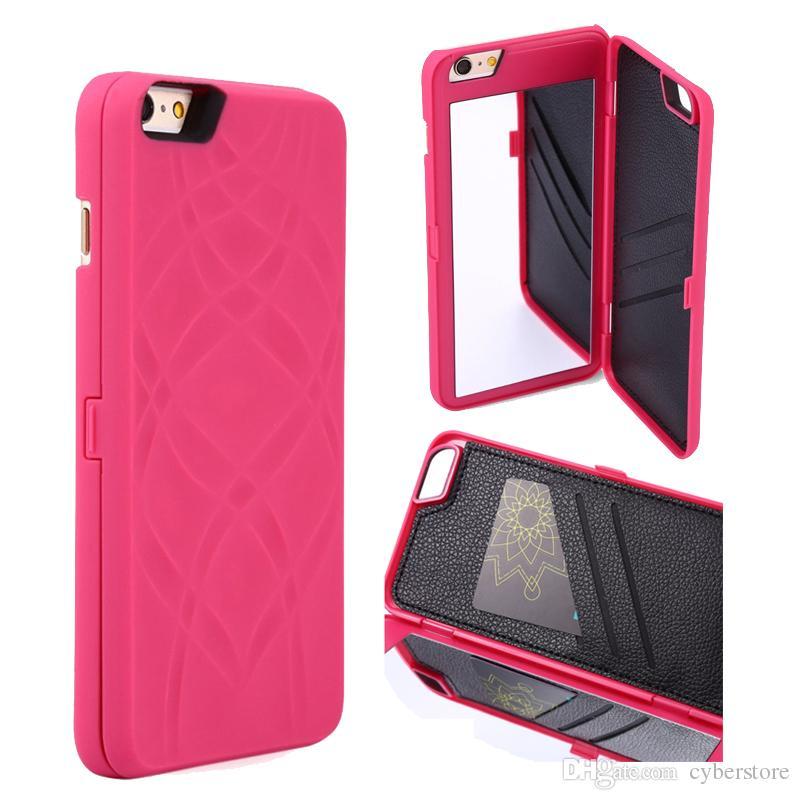Iphone Case Mirror And Money Holder