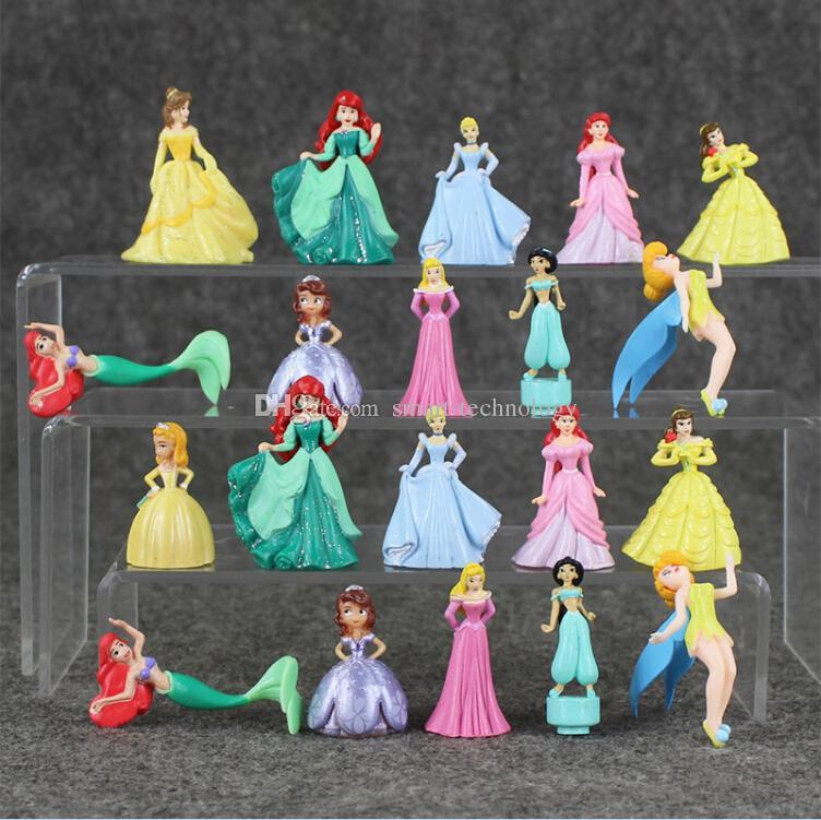 Online cheap princess figures ariel jasmine belle sofia - Princesse sofia et ariel ...