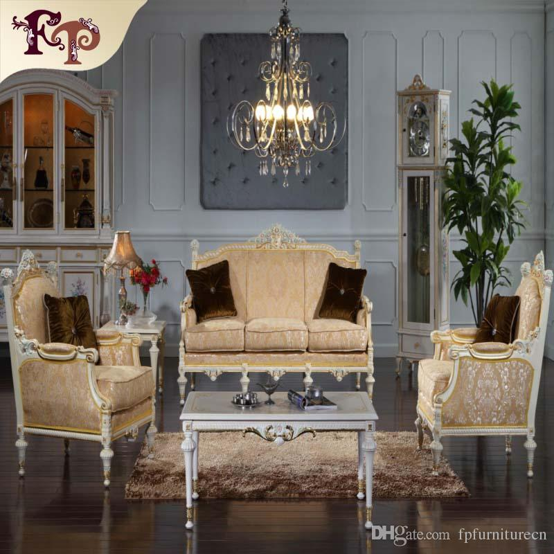 Antique Baroque Furniture -Versailles Living Room Set -European ...