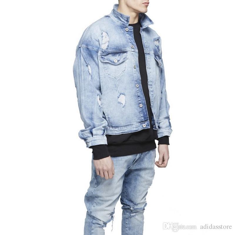 Discount Mens Light Blue Denim Jacket | 2017 Mens Light Blue Denim ...
