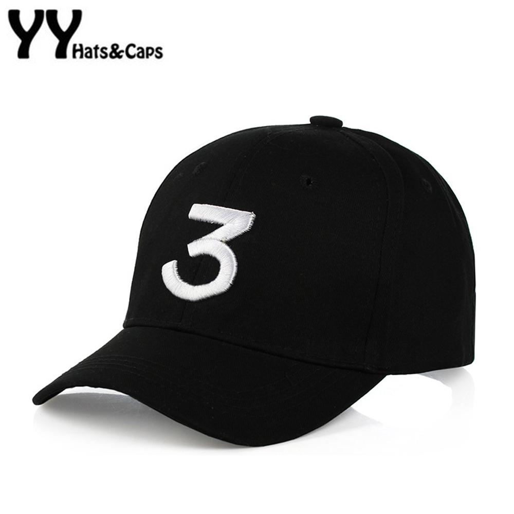 Hip Hop Chance The Rapper Chance 3 Cap Hat Lettre Broderie Baseball Cap Streetwe