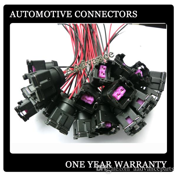 female 2 way fuel injector connector wiring female 2 way fuel injector connector wiring harness pigtail fit OEM Wiring Harness Connectors at mr168.co