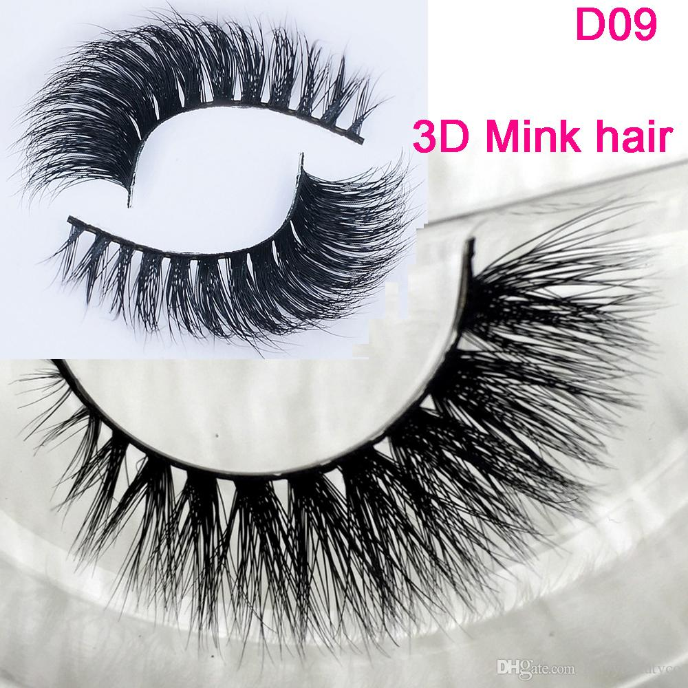 3D Mink Eyelashes Wholesale Lilly 100% Real Mink Fur Handmade Crossing ...