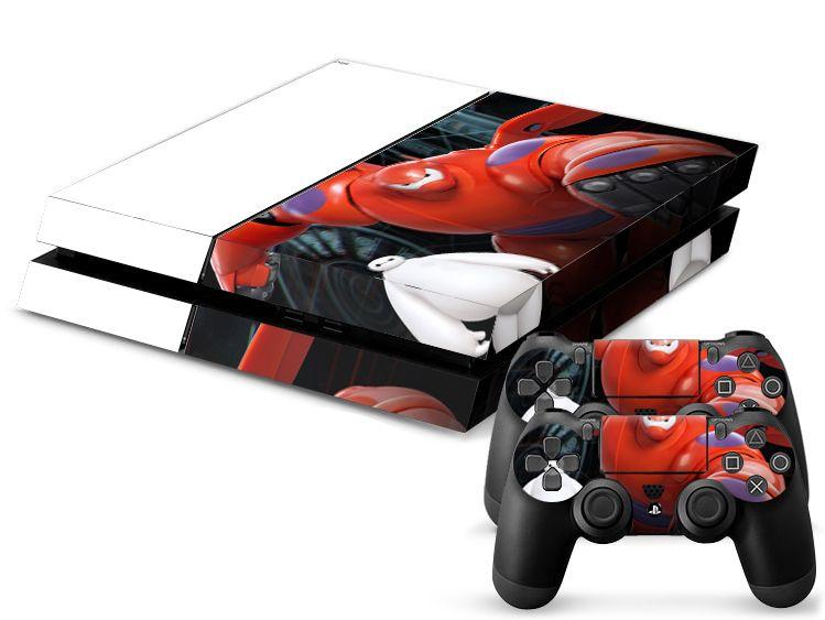2017 Cool Big Hero 6 Baymax Game Protective Decor Skin