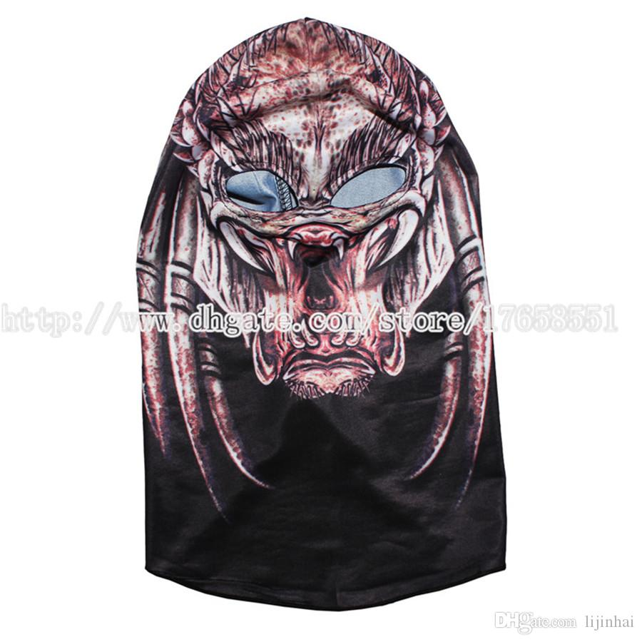 2017 Predator Mask Balaclava Cosplay Mask Predator Alien Hunter ...