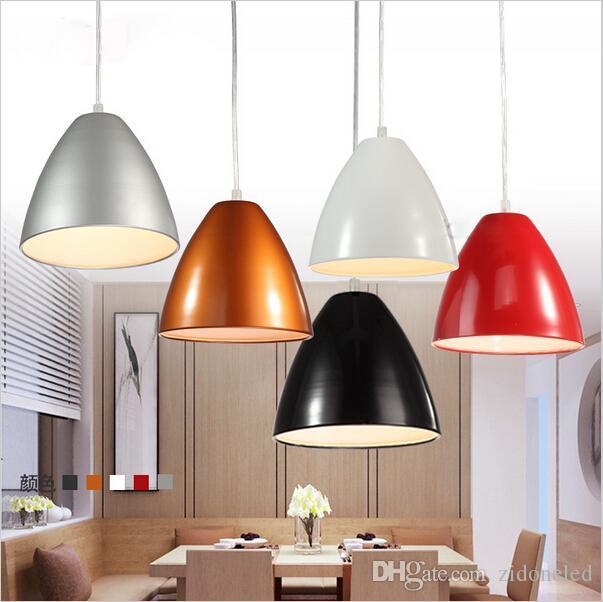 New design restaurant pendant lights modern brief e base