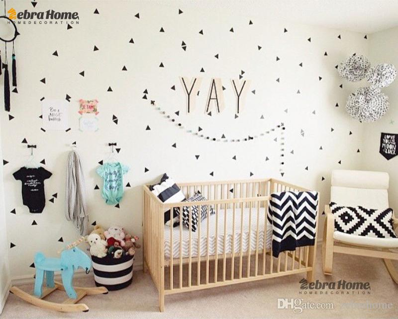 Diy pine tree removable wall stickers for living rooms for Diy tree mural nursery