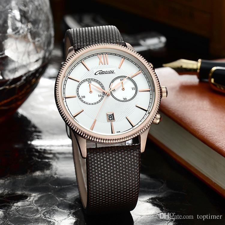 multifunction mens watches brand luxury quartz watch cardqiou multifunction mens watches brand luxury quartz watch cardqiou fashion casual business watch male wristwatches quartz