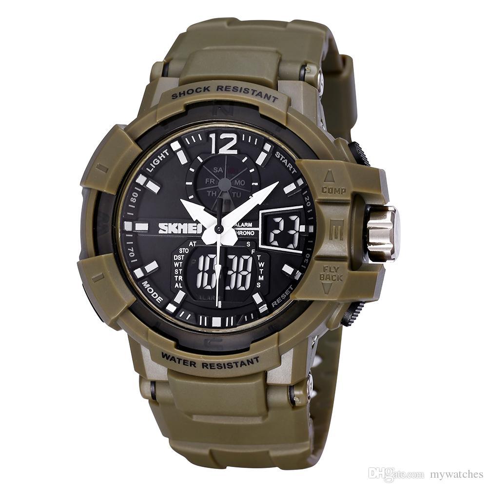 skmei 2017 style quartz digital watch men s dual time man sports skmei 2017 style quartz digital watch men s dual time man sports watches men luxury military army