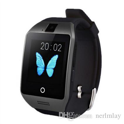 buy 2016 newest smart watch q18 multifonction bluetooth watches android ios phone xiaomi samsung. Black Bedroom Furniture Sets. Home Design Ideas