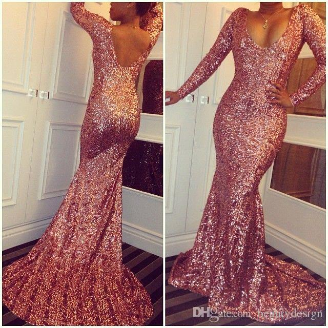 Sparkling dresses 2017