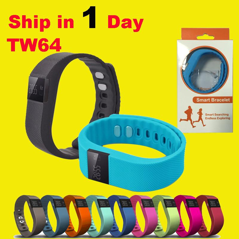 Waterproof Bluetooth TW64 Smart Bracelet Akin Flex Anti Lost Sleep Tracker Remote Photograph smart Wrist Watch for IOS Android OTH048