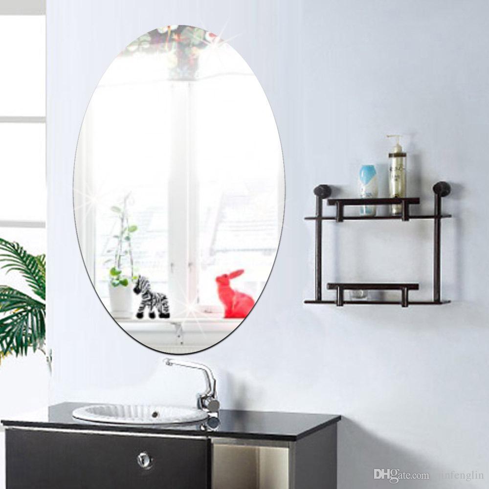 Specchio soggiorno divano sfondo decorativo adesivi murali ...