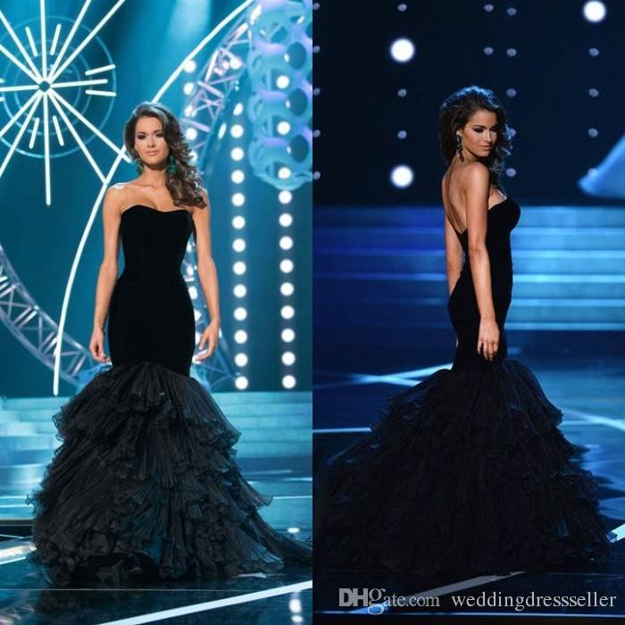 Miss Usa Competition Mary Margaret Mccord Formal Evening Dresses ...