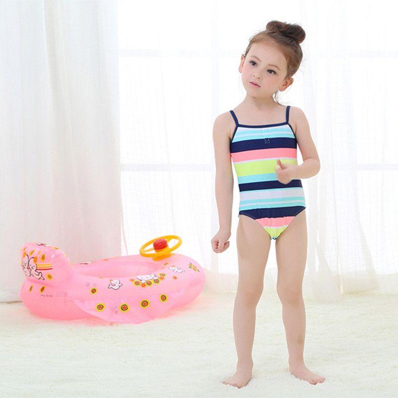 2018 Girls Swimwear 2016 Cute Baby Girl Bathing Suit Spf ...
