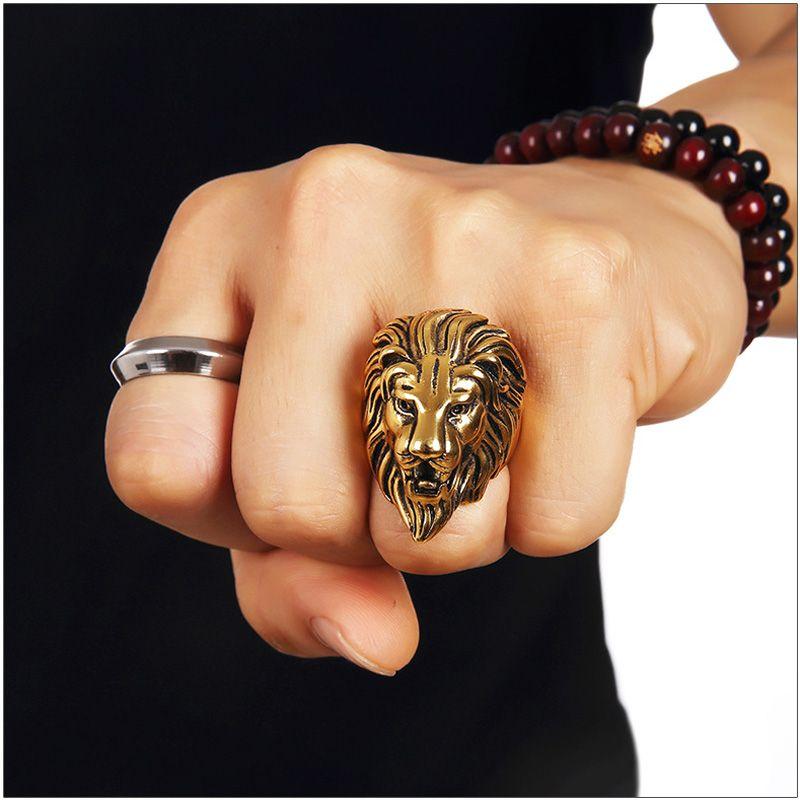 Lion Face Ring Online