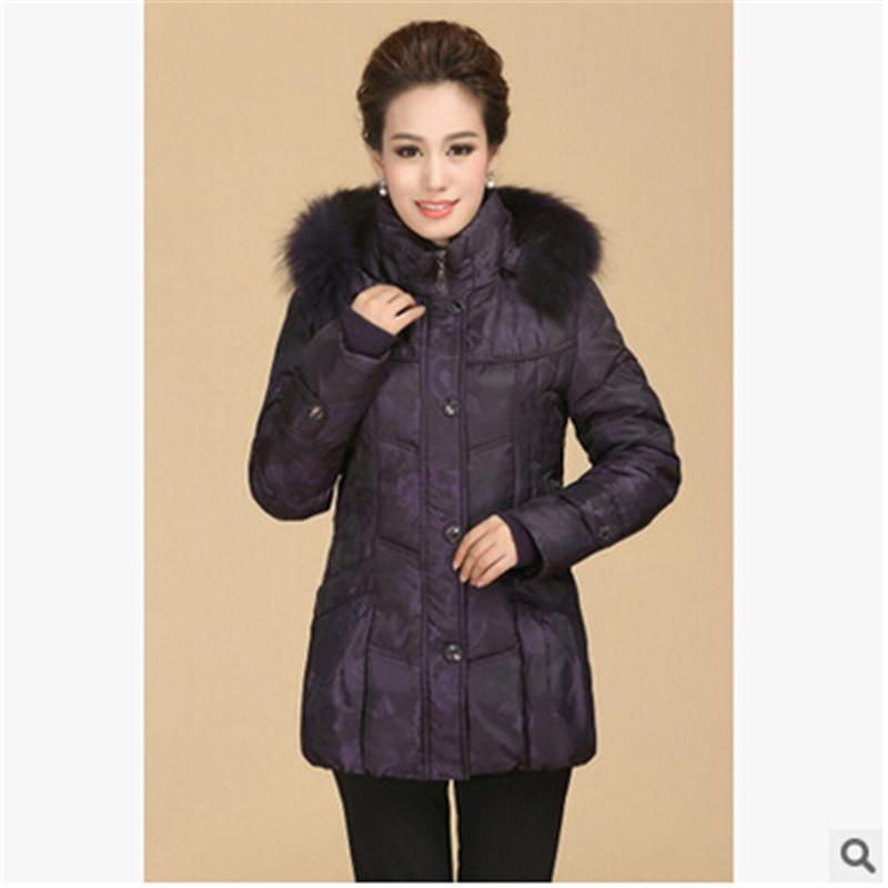 High Quality Winter Jacket Women Winter Coat Big Yards Mao Collar