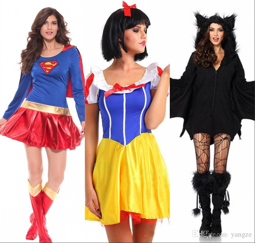 Halloween Anime Costumes vintage blackbluered gothic lolita dress halloween victorian cosplay costumes long sleeves tiered New Arrival 2016 Halloween Costumes Superhero Cosplay Sexy Fancy Dress Snow White Cosplay Black Batman Anime