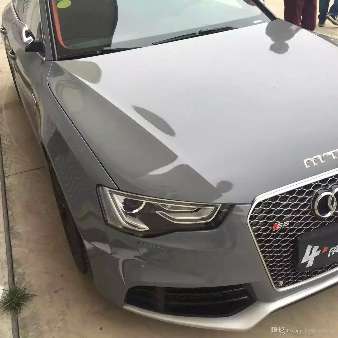 Car Vinyl Wrap Cost >> 2017 3 Layers Cement Grey High Gloss Vinyl Wrap Like 3m Cement Ultra Glossy Cement Car Wrap Coat ...