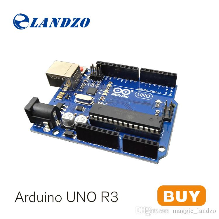 Minimun price landzo arduino uno r development board