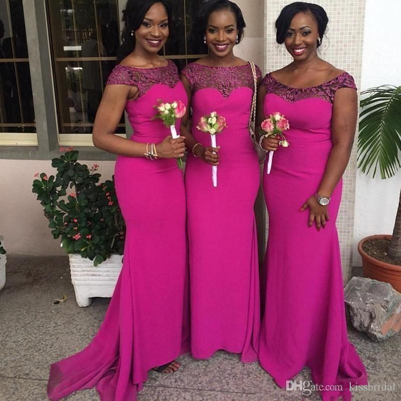 Discount South African Wedding Bridesmaid Dresses  2017 South ...