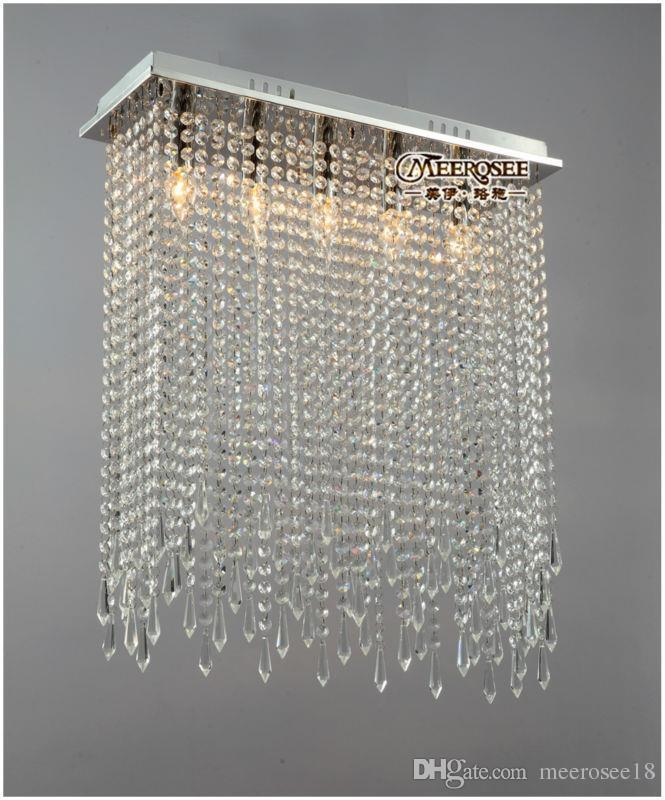 Dunelm Crystal Ceiling Lights : Rectangle shape crystal ceiling lights fixture clear