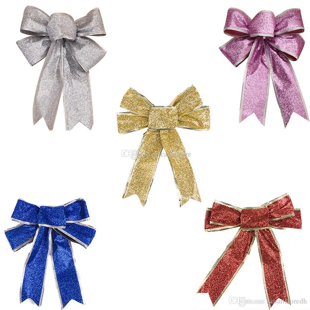 Bow Knot Christmas Tree Decorations