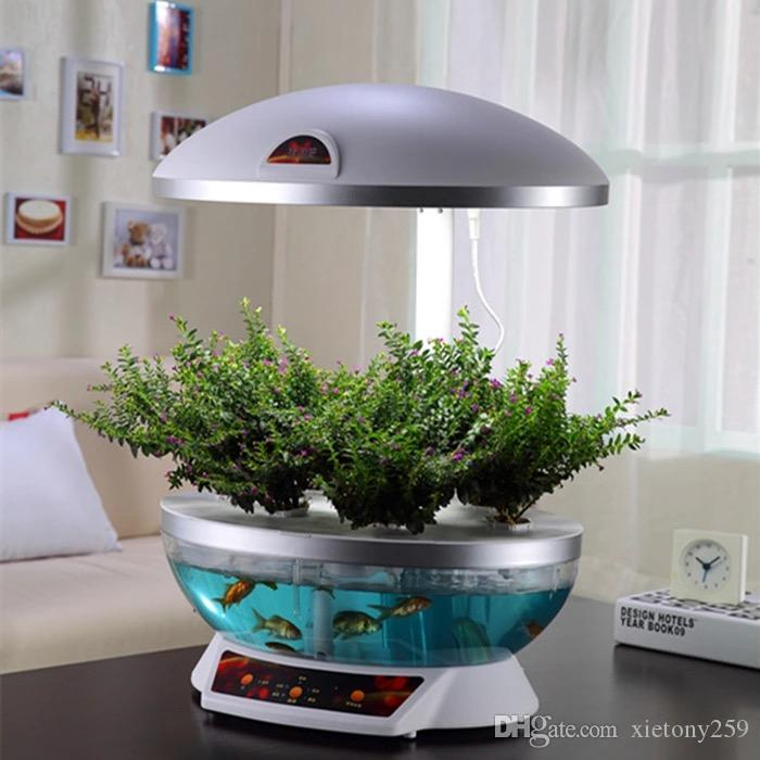 2017 household intelligent fine mocle farm smart garden for Smart fish tank