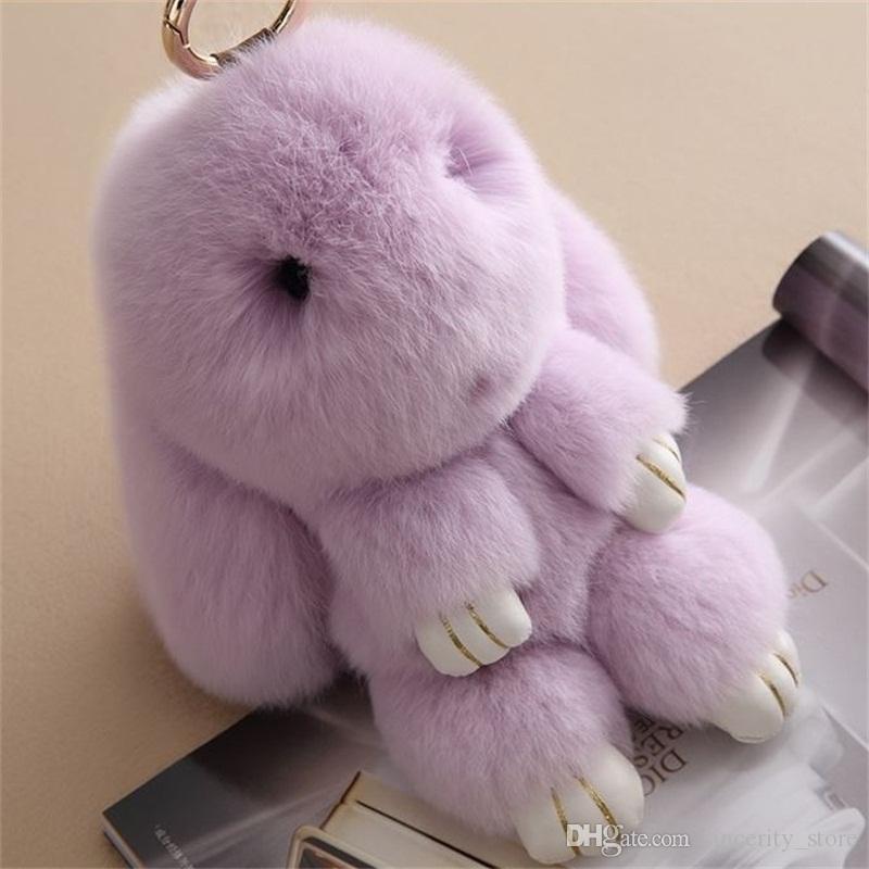 Rabbit Fur Toy