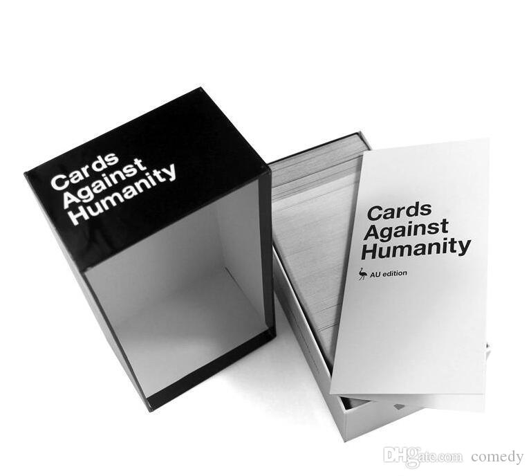 QUALITÉ AAA Cards of Humanity jeu US 1.7 Edition 550 Carte Ensemble de base comp