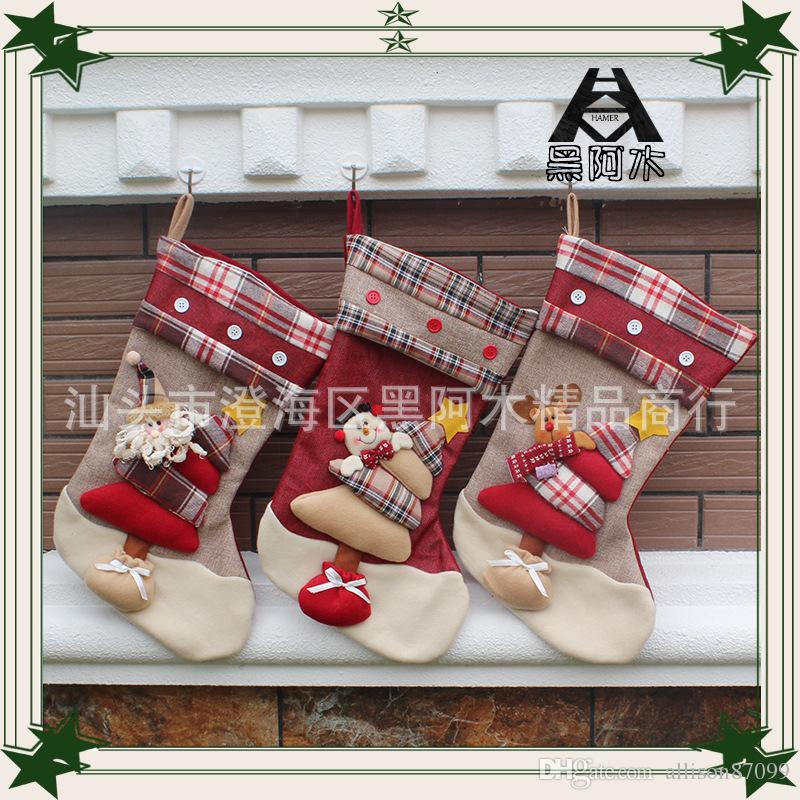 Top Quality Christmas Decorations Christmas Stockings