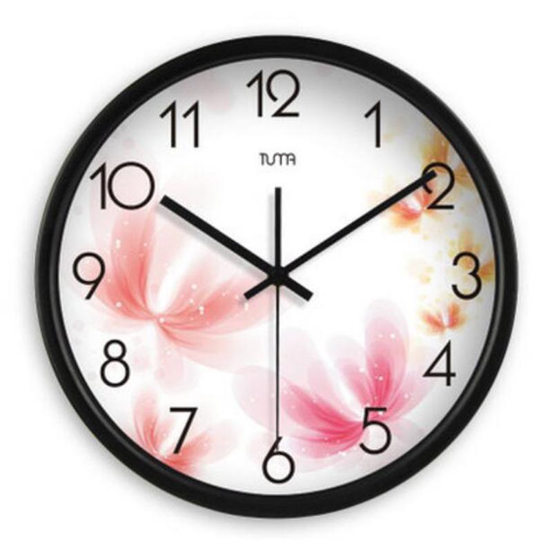 large decorative wall clock home decor modern design pocket watch pendule murale silent modern. Black Bedroom Furniture Sets. Home Design Ideas