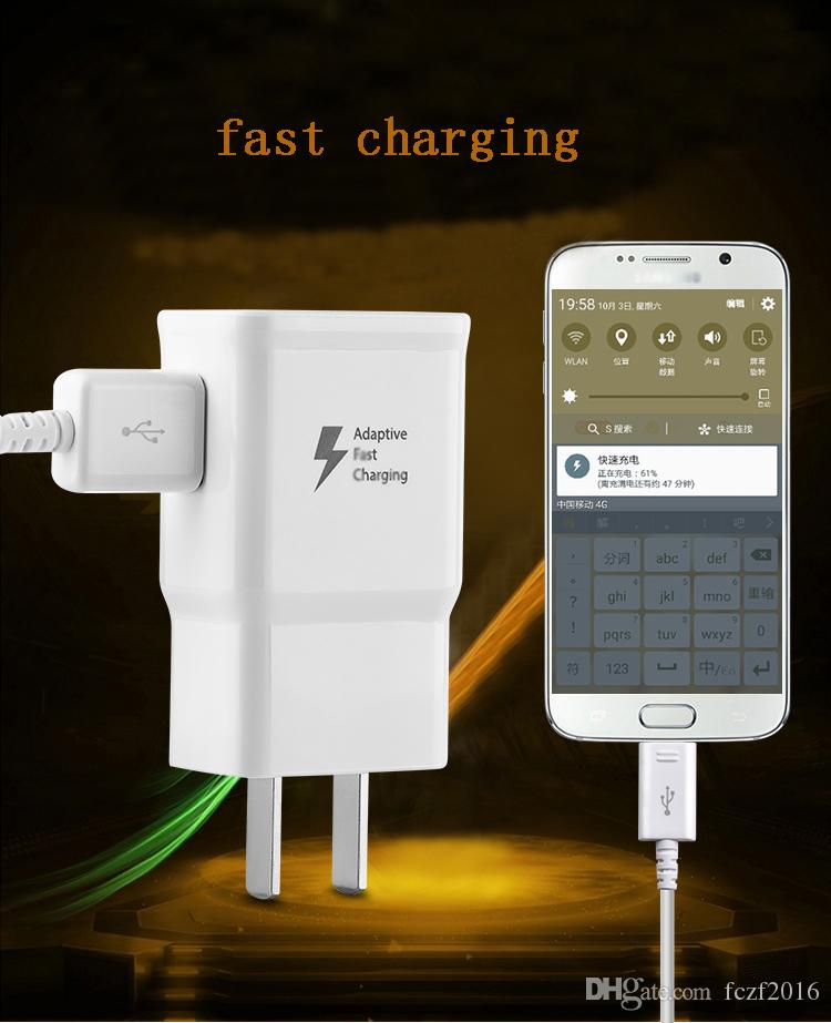 EP-TA20HWE Pour Samsung US EU AU UK Adaptive rapide rapide charge mur Chargeurs