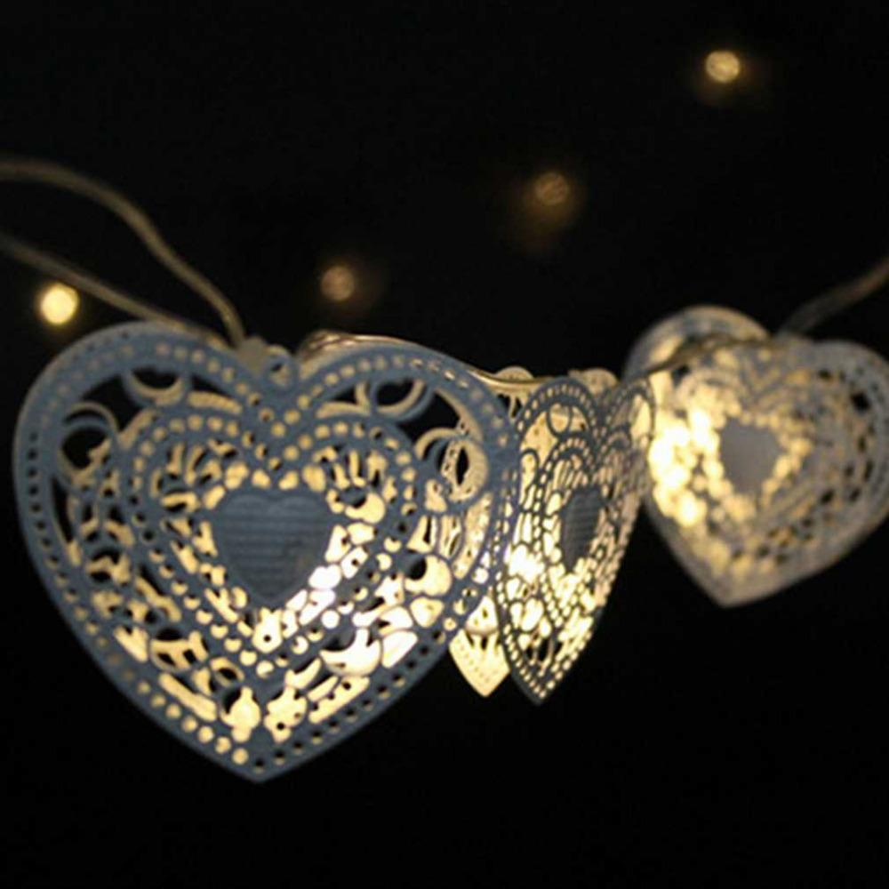 led heart shaped christmas tree light bulb battery operated party fairy string lights outdoor halloween decoration christmas tree light string lights string - Christmas Tree Light Bulb