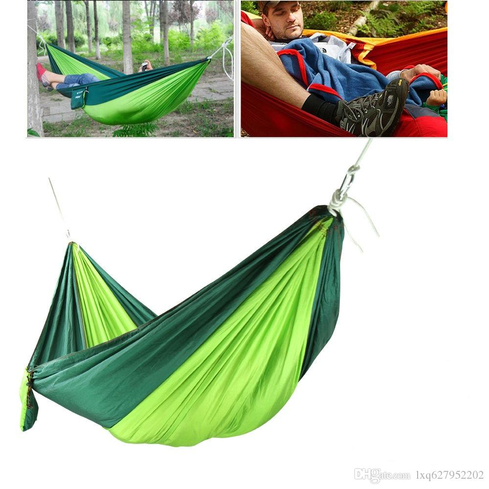 2016 Hot Sale Double Outdoor Picnic Hammock Swing Bed Portable ...