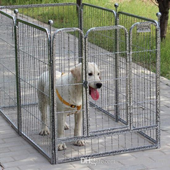 2017 new arrival dog fences indoor outdoor playpen for dogs detachable portable pet pens cage. Black Bedroom Furniture Sets. Home Design Ideas
